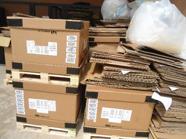 Thu mua giấy thùng carton giá cao